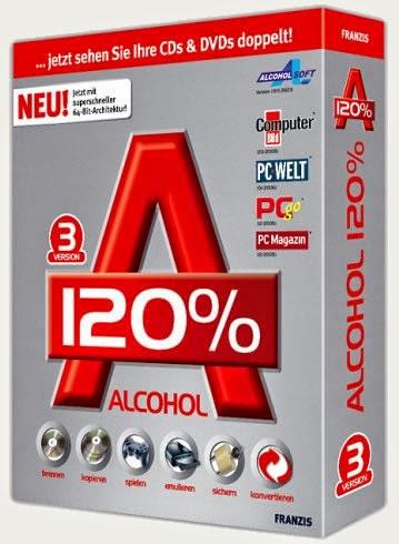 الاقراص Alcohol 120% 2.0.3.6828 ******* 2014,2015 alcohol+120%+f